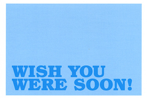 TTM Wish Postcard