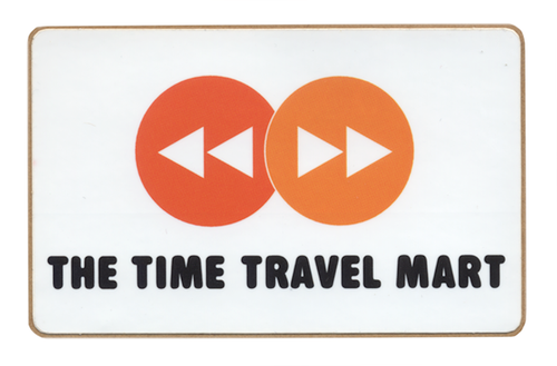 Time Travel Mart Sticker