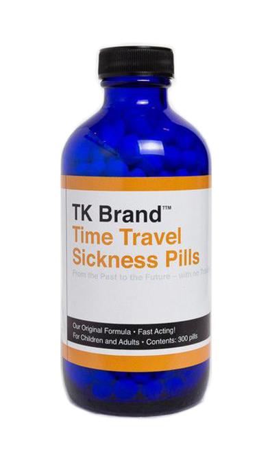Time Travel Sickness Pills