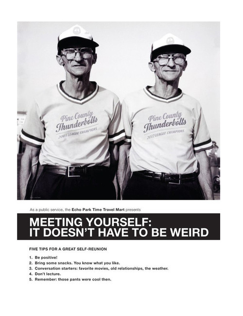 Meeting Yourself 8x10 Print