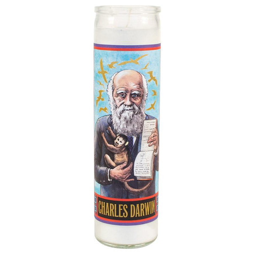 Secular Saint Candle