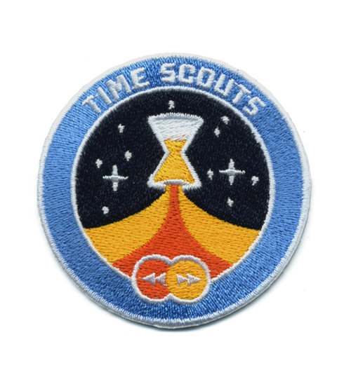 Time Scouts Logo Patch