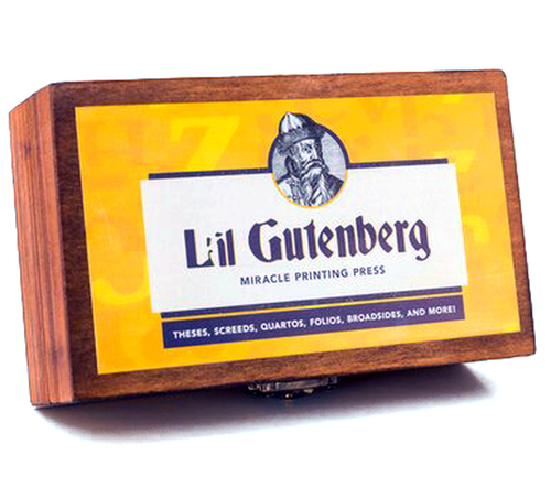 L'il Gutenberg Miracle Printing Press