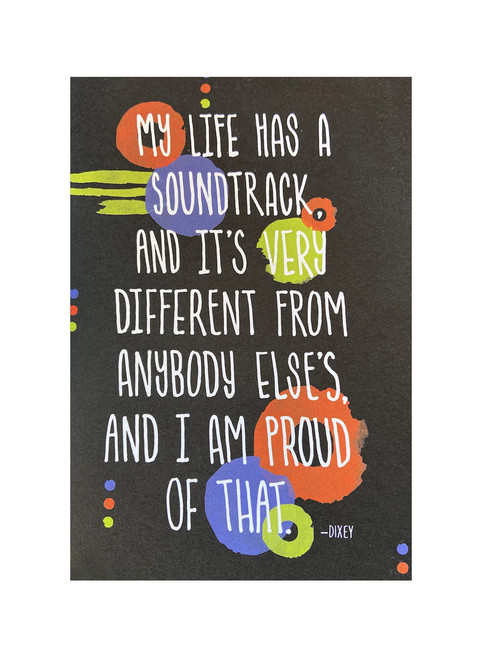 Soundtrack Greeting Card