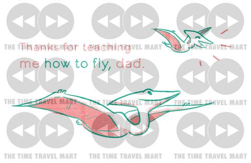 Ptero-dad-ctyl e-card