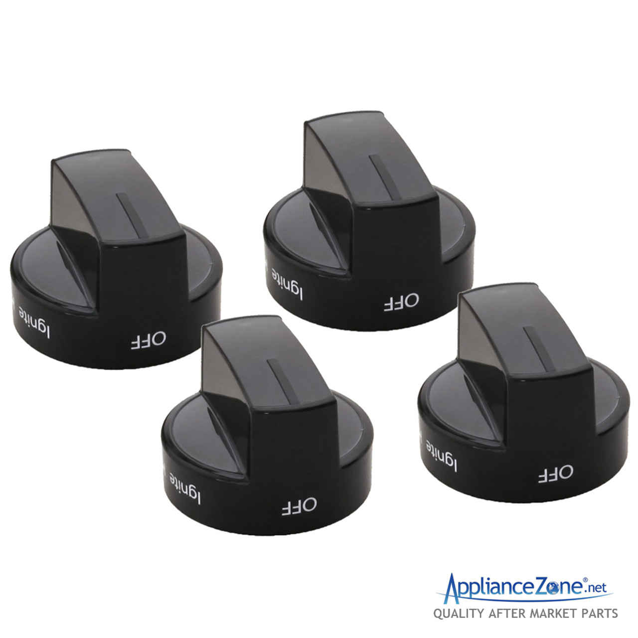 4 Pack Oven and Range Infinite Knob Replacement Part For Whirlpool