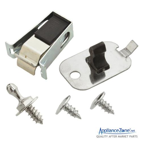 Dryer Door Catch Strike Latch Kit Replaces GE Hotpoint # WE01X10184 WE01X10188
