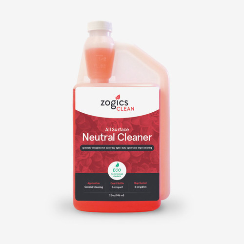 Zogics All Surface Neutral Cleaner 32 oz.