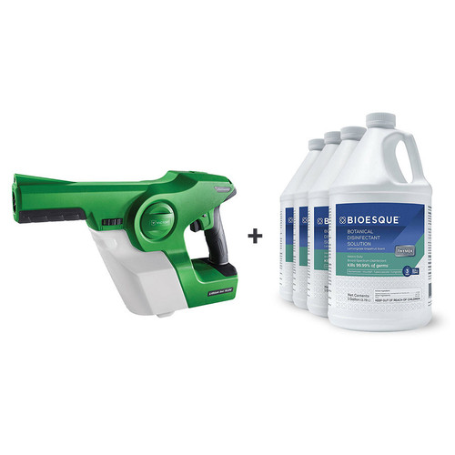 Victory Gen 2 Cordless Handheld Sprayer and Bioesque Botanical Disinfectant System