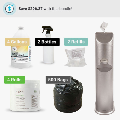 The Cleaning Station All-In-One Sanitizing Wipes Bundle