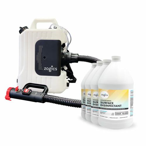 Disinfecting Sprayer + Hypochlorous Acid Bundle