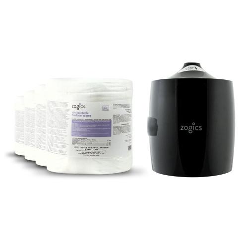 Antibacterial Disinfecting Wipes New Customer Bundle (Free Dispenser)