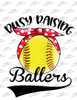 Busy raising ballers softball Sublimation Print
