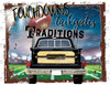 Touchdowns tailgates traditions Sublimation Print