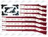 American Flag 2nd Amendment Sublimation Print