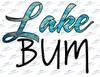 Lake Bum Sublimation Print