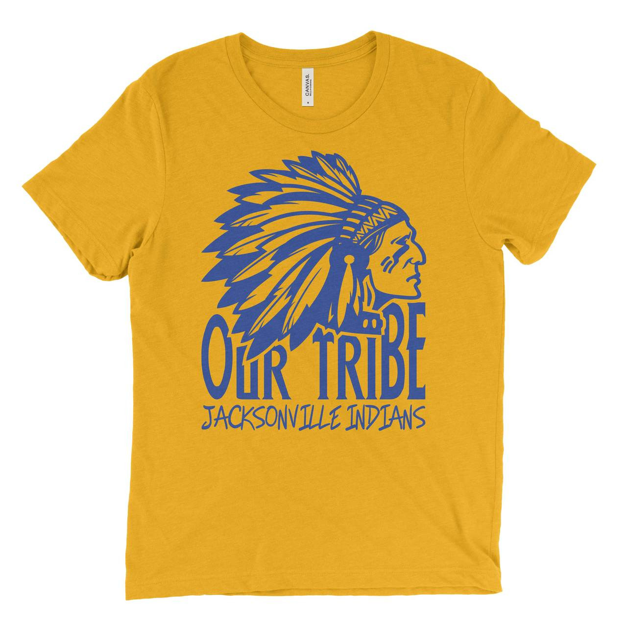 Our Tribe Jacksonville Indian Logo T-Shirt