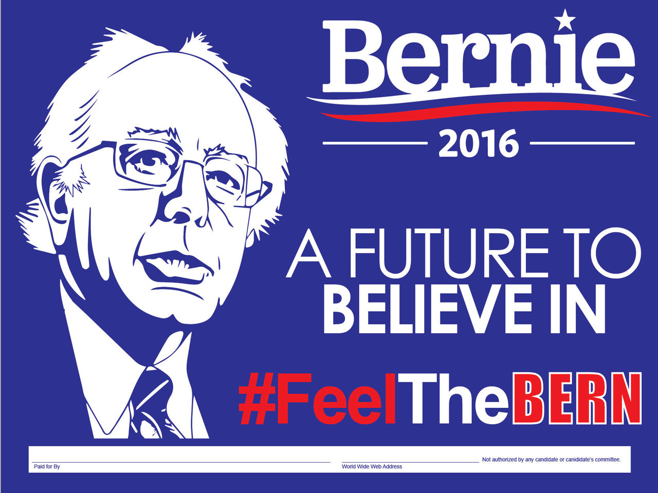 Bernie 2016 A Future to Believe In