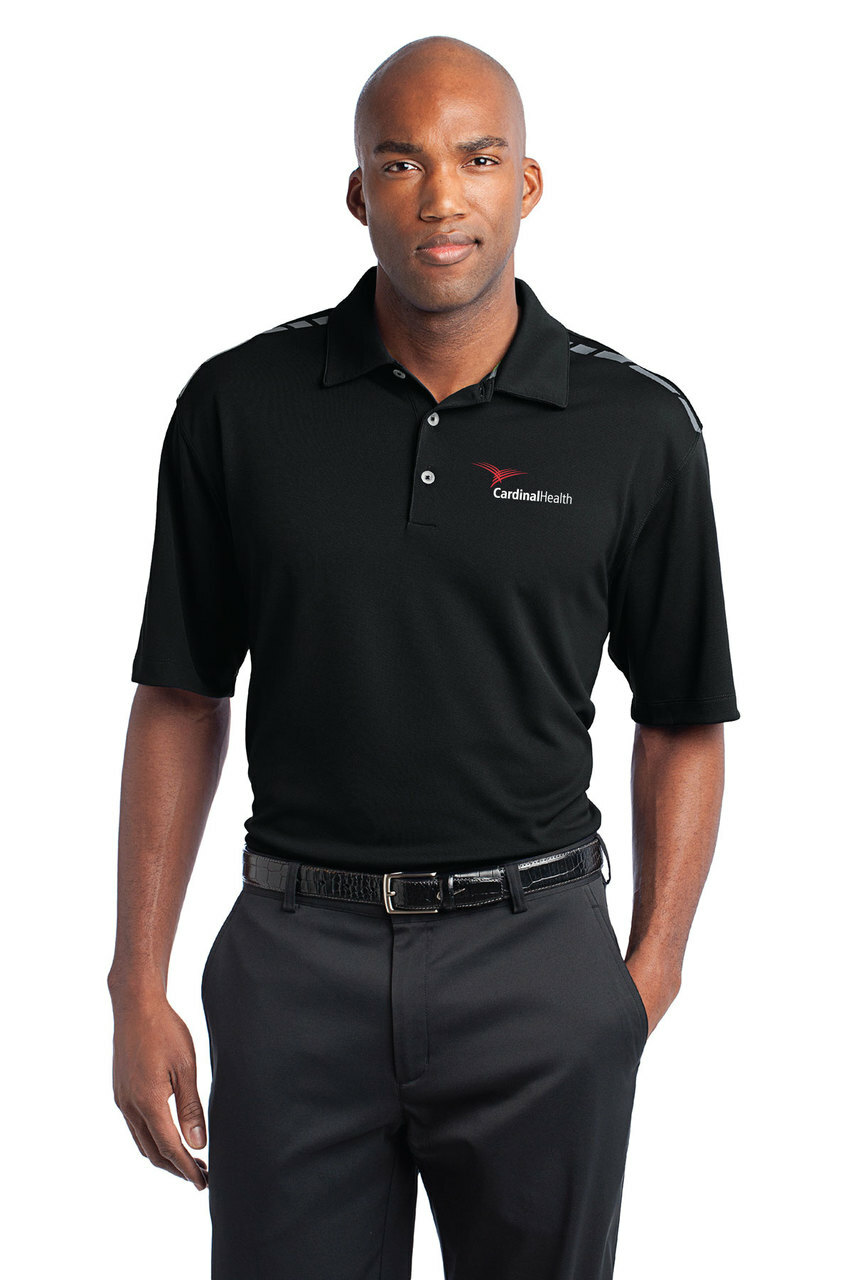 Cardinal Health Nike Golf Dri-FIT Graphic Polo