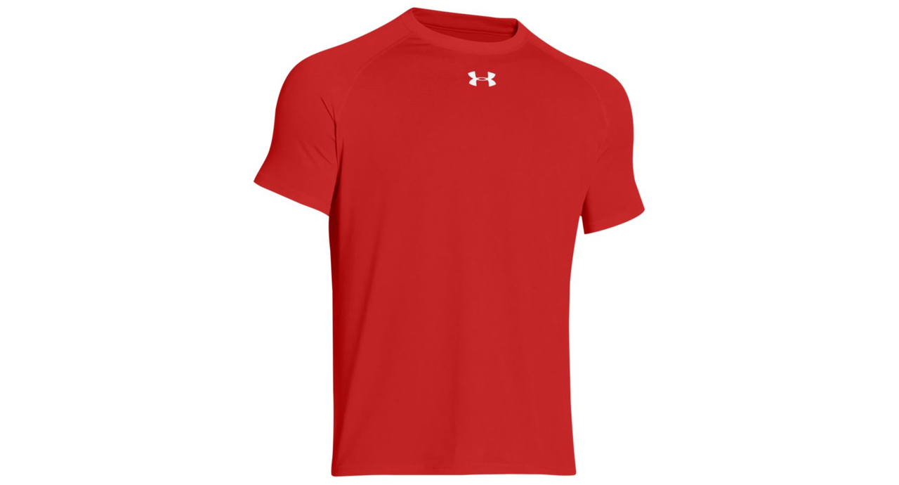 Under Armour Men's Short Sleeve Locker Tee 2.0 Red