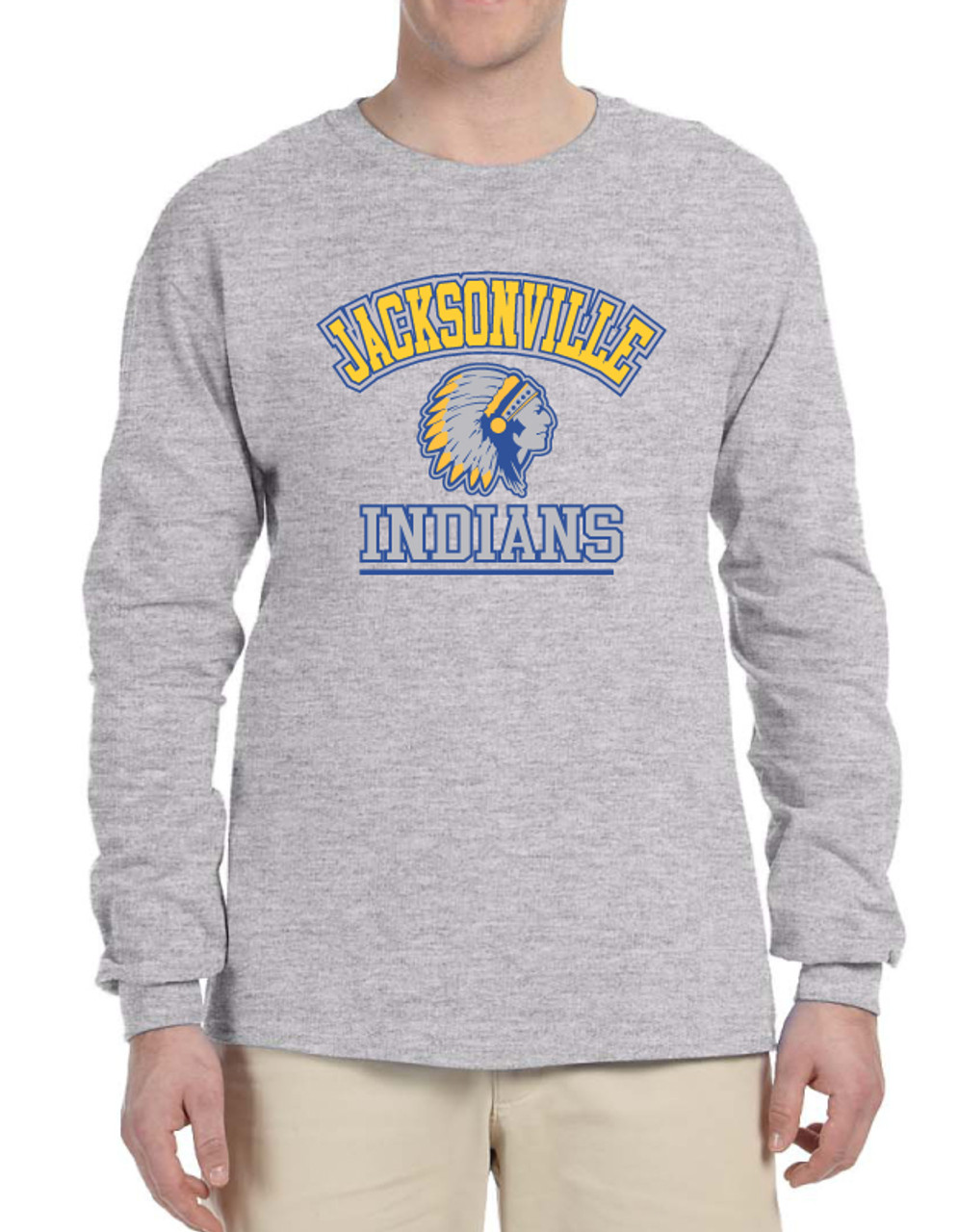 Long Sleeve Jacksonville T-shirt Adult & Youth Sizes
