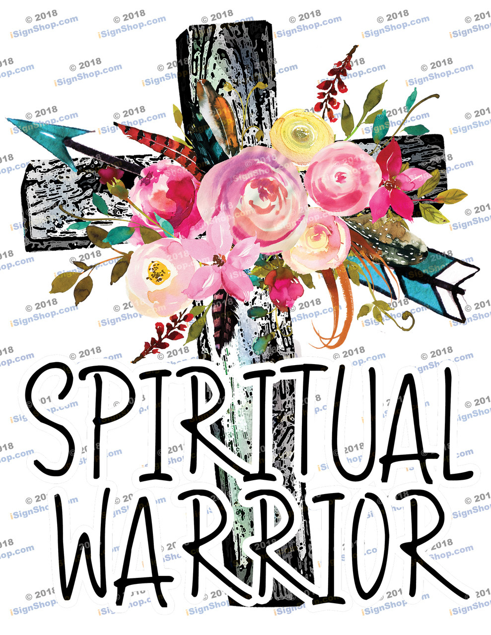 Spiritual Warrior Sublimation Print