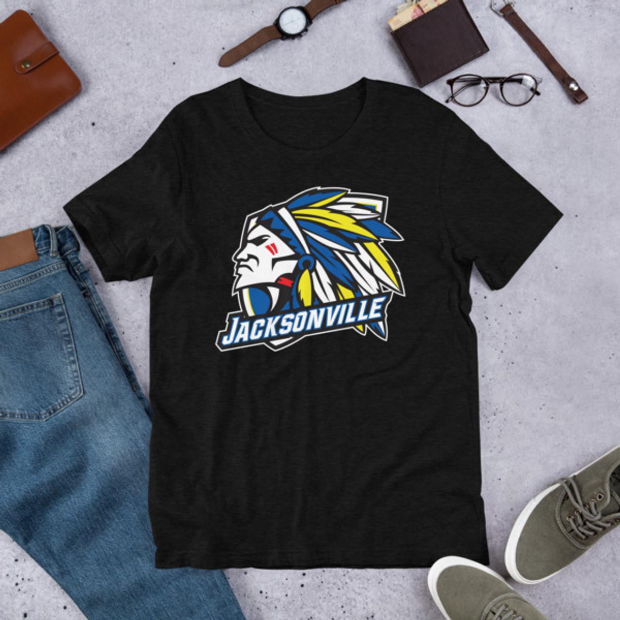 Jacksonville Indian Short-Sleeve Unisex T-Shirt
