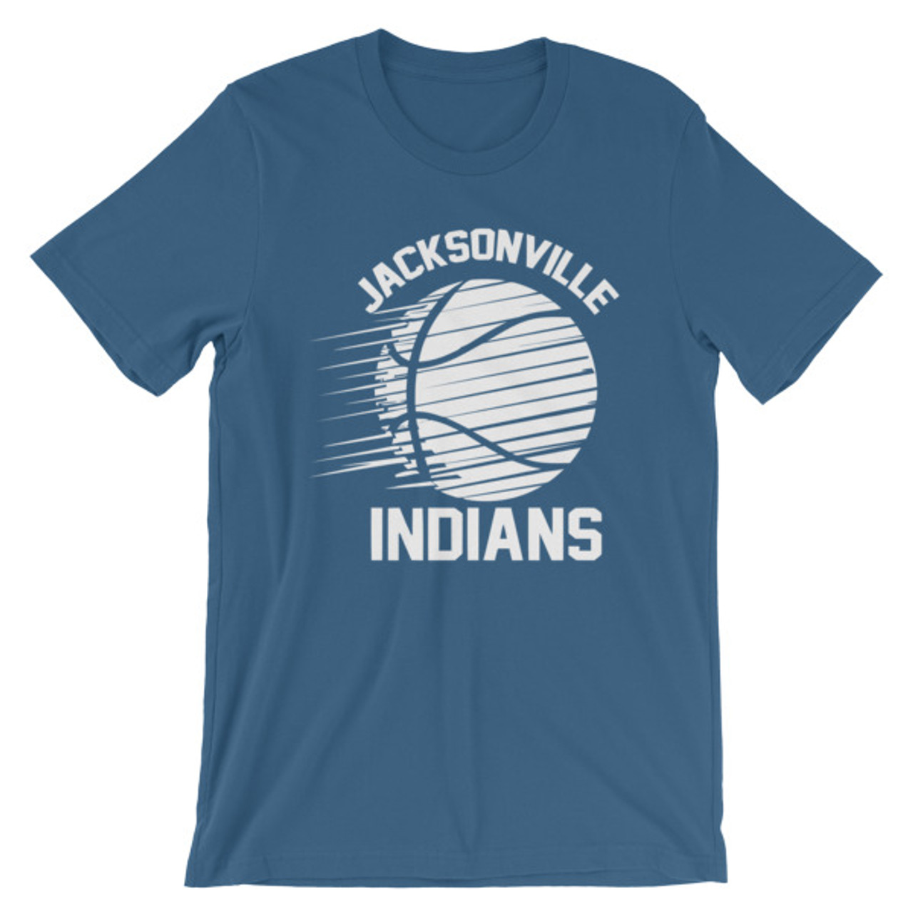 Jacksonville Indian Basketball Short-Sleeve Unisex T-Shirt