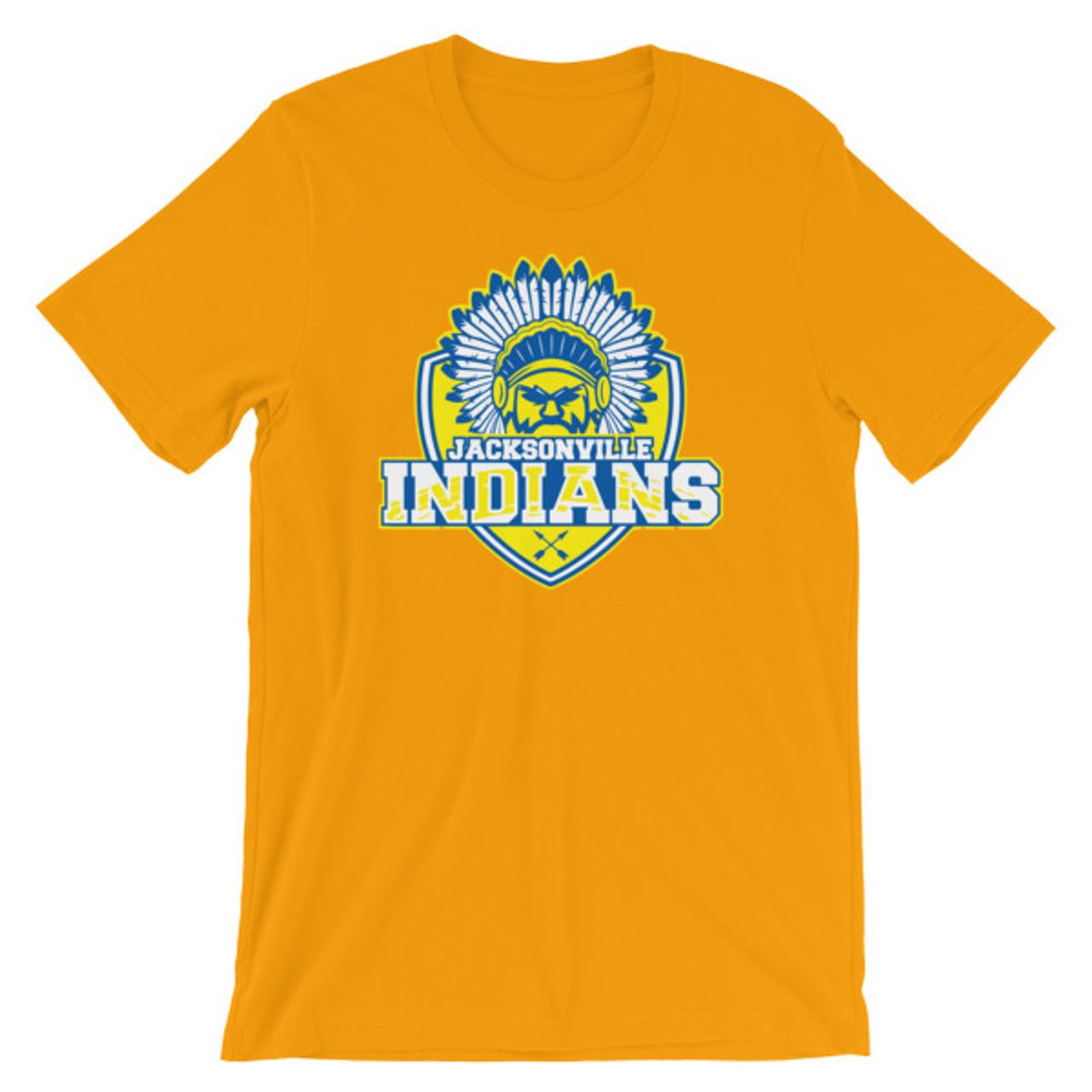 Jacksonville Indians Short-Sleeve Unisex T-Shirt