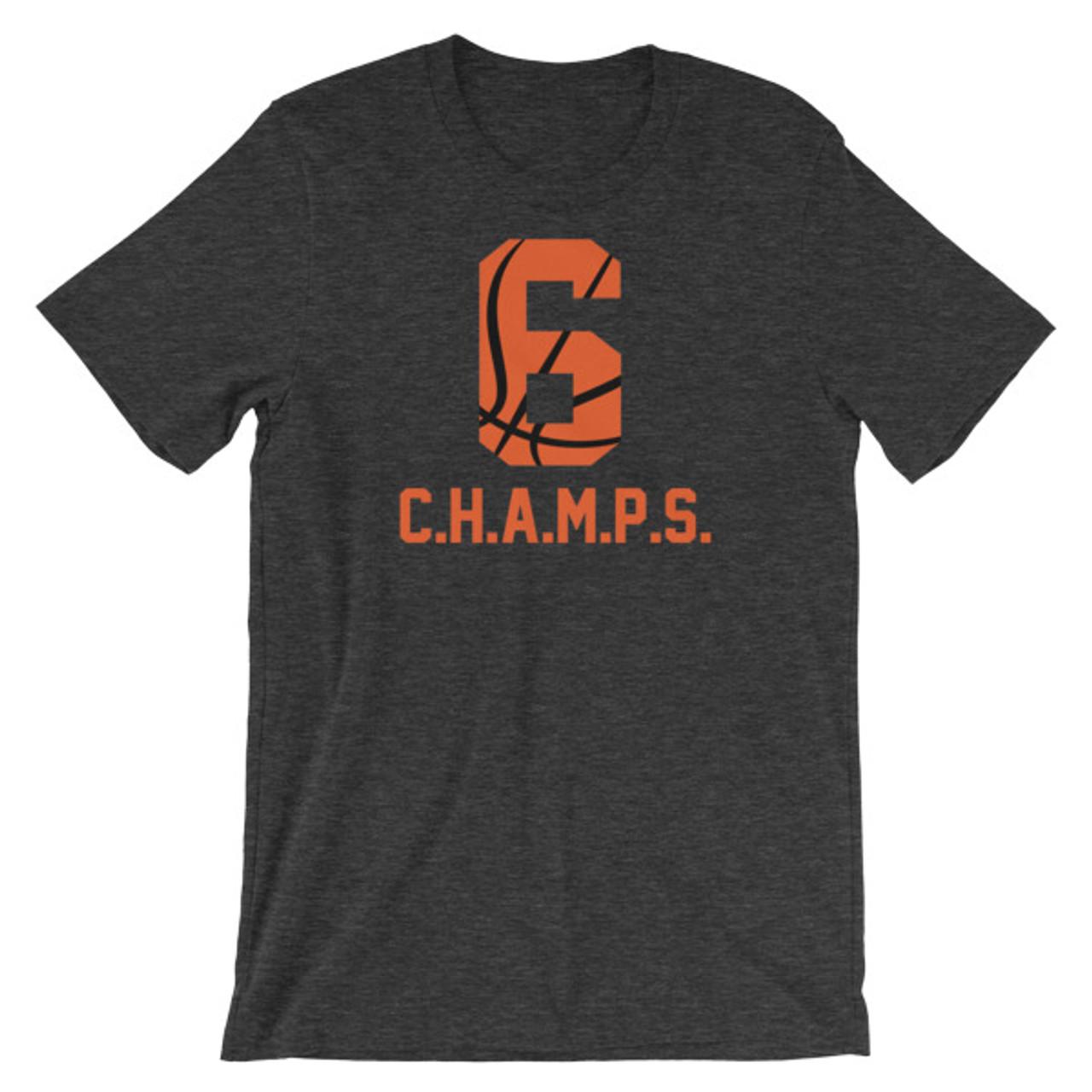 CHAMPS Baskeball Team Shirt Big Ball 6