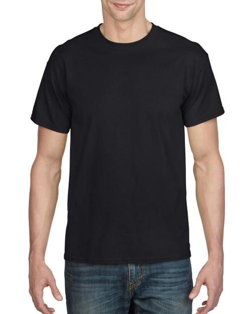 Gildan G8000 Black 50/50 Cotton Poly Blend