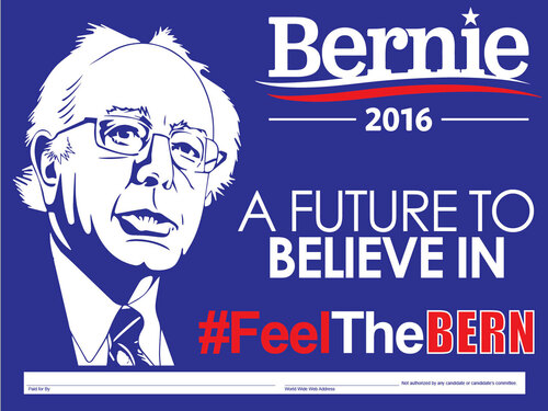 Bernie 2016 A Future to Believe In