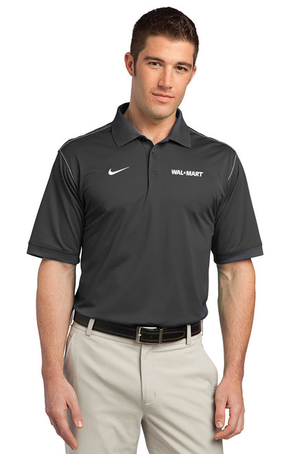 Walmart Nike Golf Dri-FIT Sport Swoosh Pique Polo