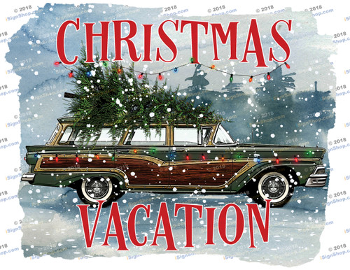 Christmas Vacation Sublimation Print