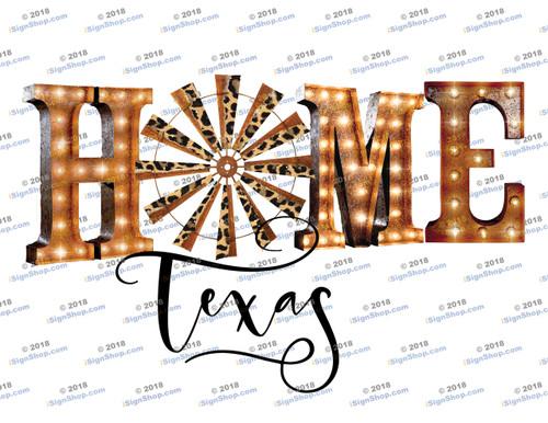 Home Texas Sublimation Print