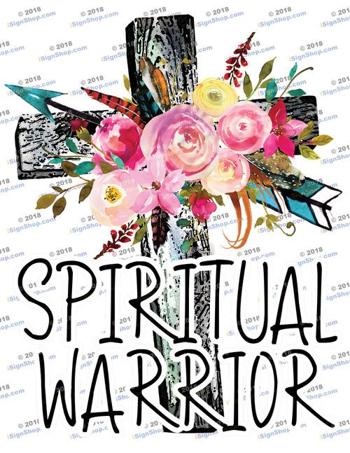 Spiritual Warrior Sublimation Print