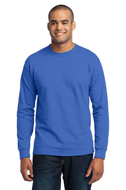 Jasper Ventures Port & Company® Royal Long Sleeve Core Blend Tee