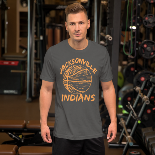 Jacksonville Basketball Short-Sleeve Unisex T-Shirt