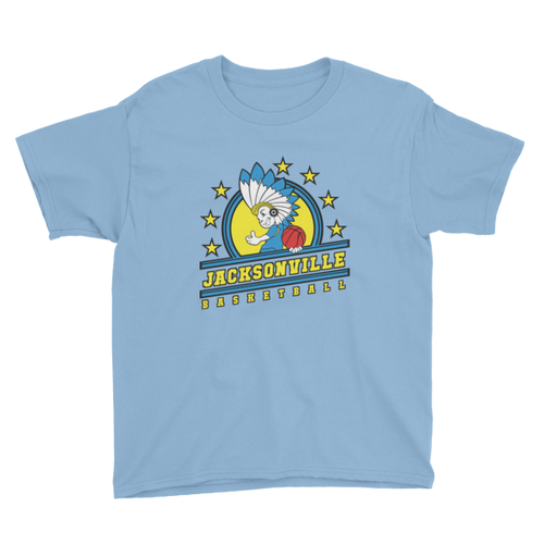 Jacksonville Basketball Youth Short Sleeve T-Shirt
