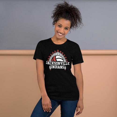 Jacksonville Vollyball Short-Sleeve Unisex T-Shirt