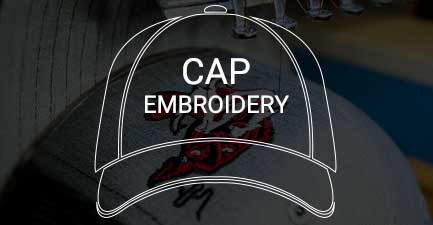 Cap embroidery for businesses and events