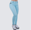 BRAZIL PIT BULL JEANS WOMEN BLUE PANTS #27970