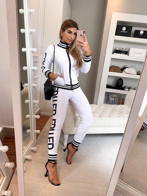 BRAZILIAN FASHION SPORTS WEAR WOMEN OUTFIT  001-MD