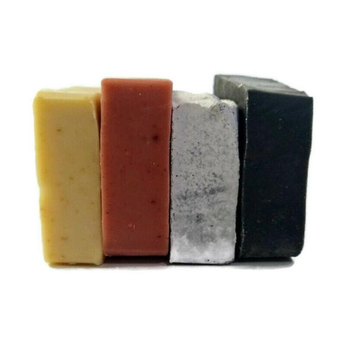 Lavender, Rose, Salt soap, Charcoal