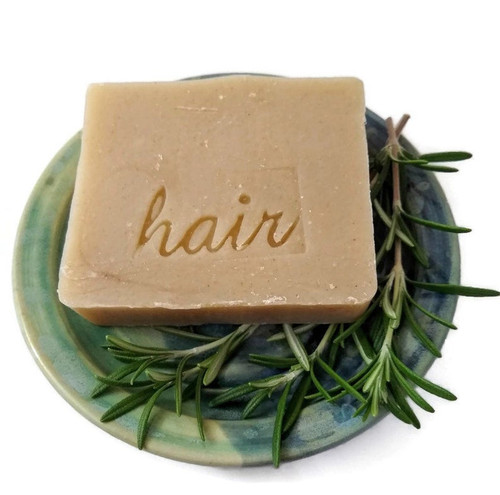 Rosemary Cypress Shampoo Bar for normal to slightly oily hair types by Aquarian Bath