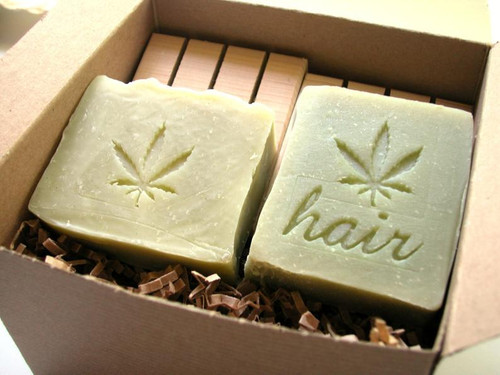Hemp Gift set with Patchouli Shampoo