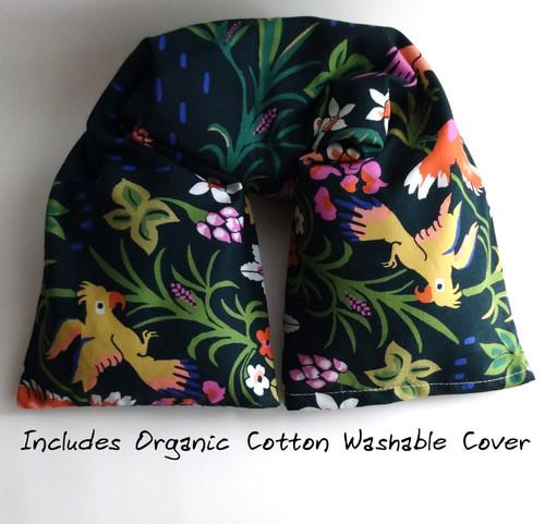 Organic cotton Eden Microwavable Neck Wrap by Aquarian Bath