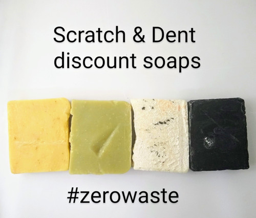 Zero Waste Scratch and Dent soaps