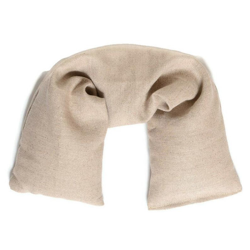 Flaxseed Microwavable Neck Wrap - Hemp Linen