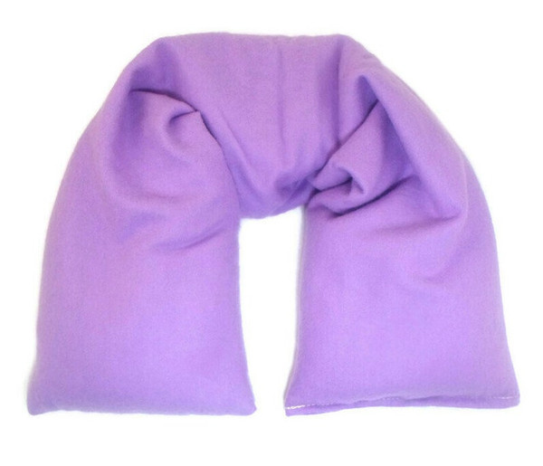 Purple Flannel Organic cotton neck pillow